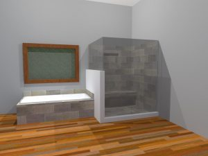 baño post