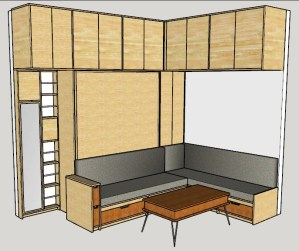 Murphy Bed design for URBN Escalante