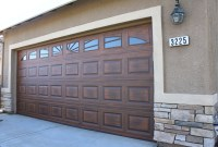Custom Faux Wood Garage Doors Installation & Sales