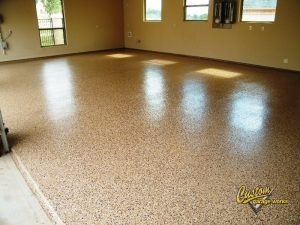 Garage Flooring Options In Haslet and Fort Worth TX
