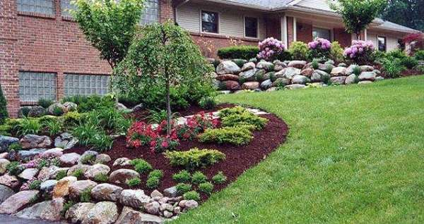 custom garden design - informal