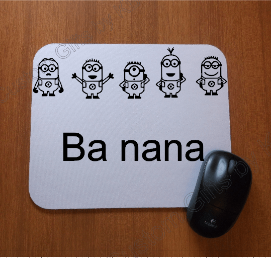 Custom Designed Minion Mouse Pad