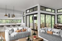 Split Level Home Design - Custom home Designs
