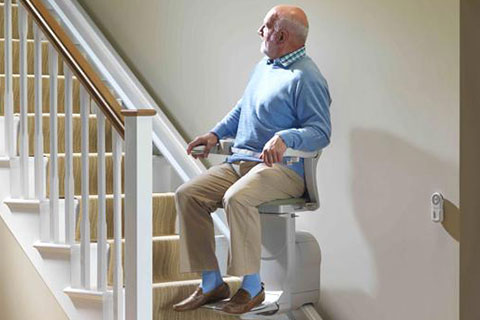 old people chair lift intex float springfield oh stairlifts chairlifts home elevators stair more in