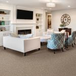 Mohawk Smartstrand Carpet in Basement