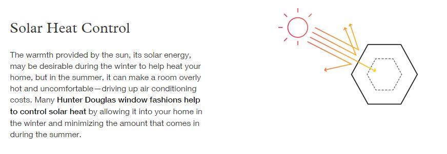 solar heat control