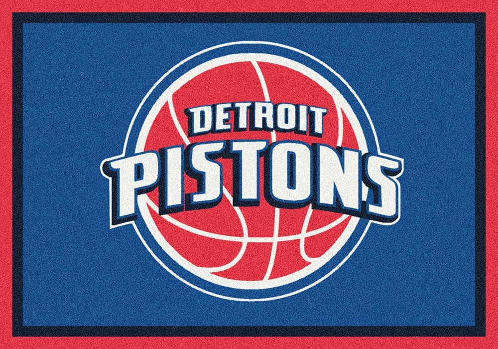 Detroit Pistons Spirit Area Rug - NBA