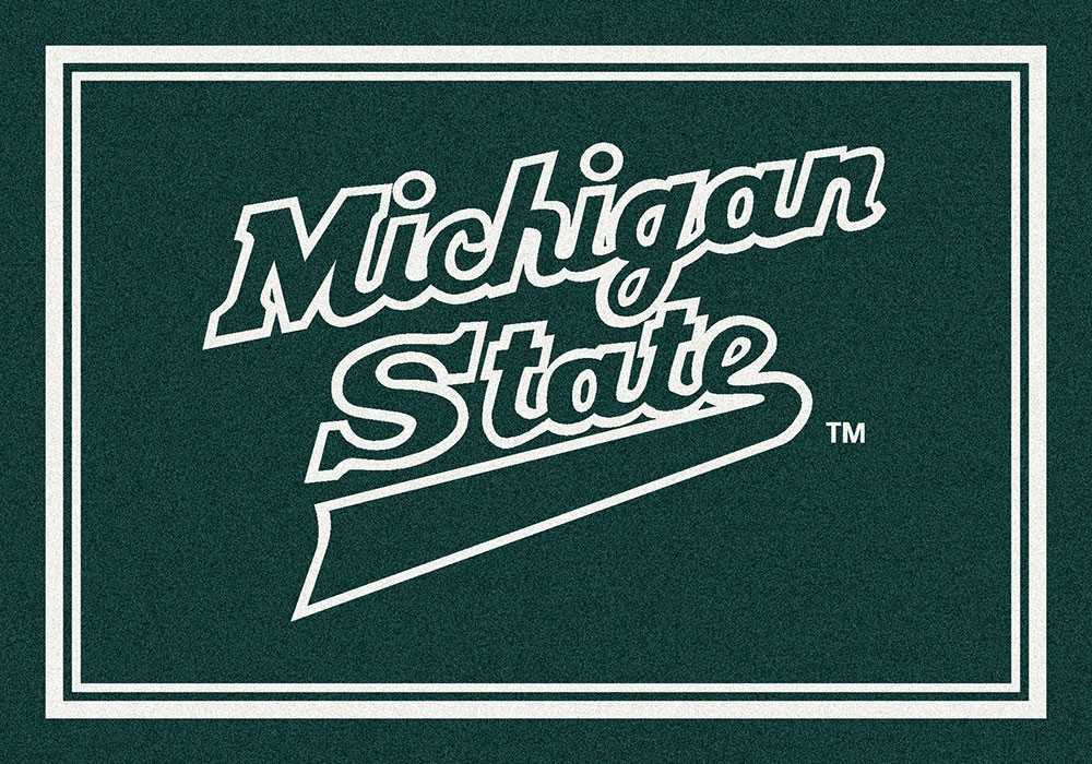 Michigan State University Spirit Area Rug - MSU