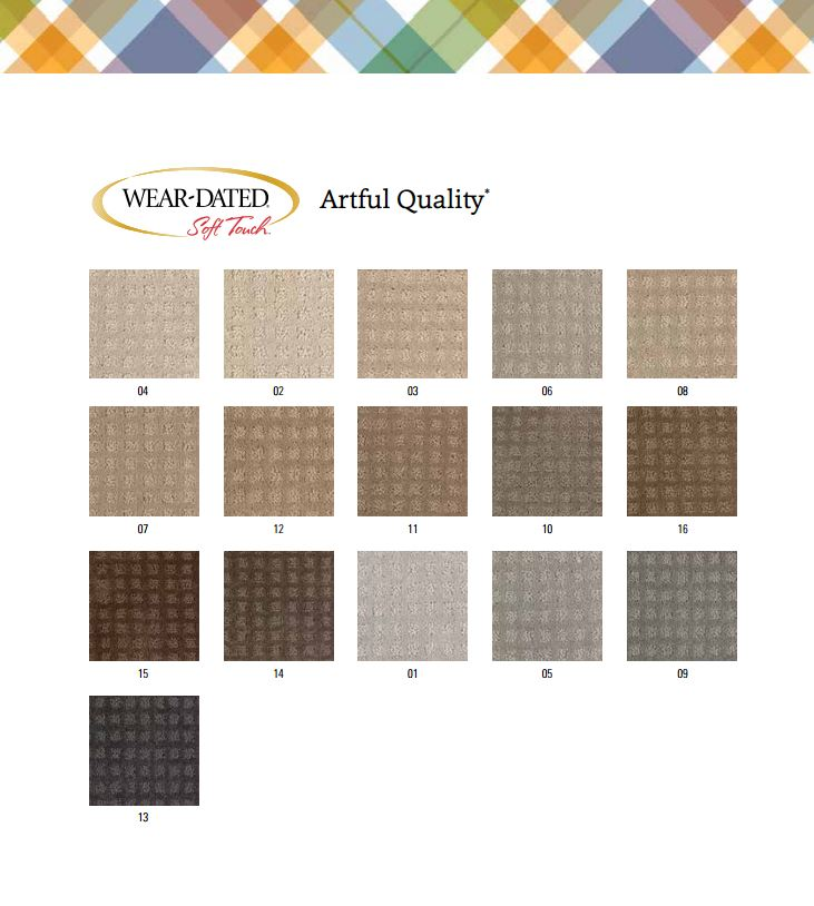 Artful Quality Wear Dated Nylon Color Bank