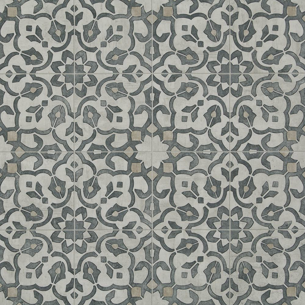 Mannington sheet vinyl and luxury sheet vinyl in Filigree in Iron