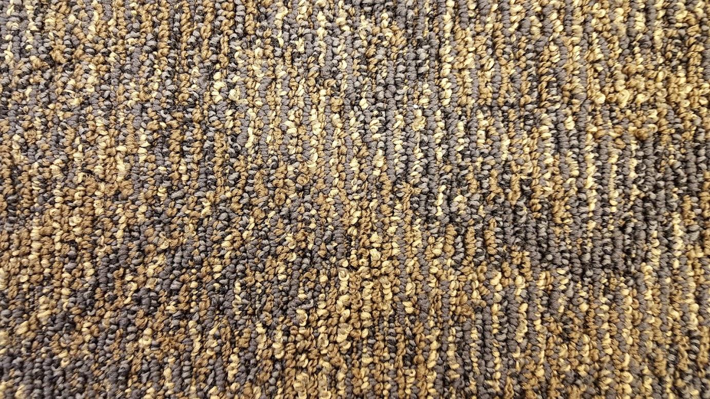 Medallion Navy Night Gold Light Bigelow Carpet Tile