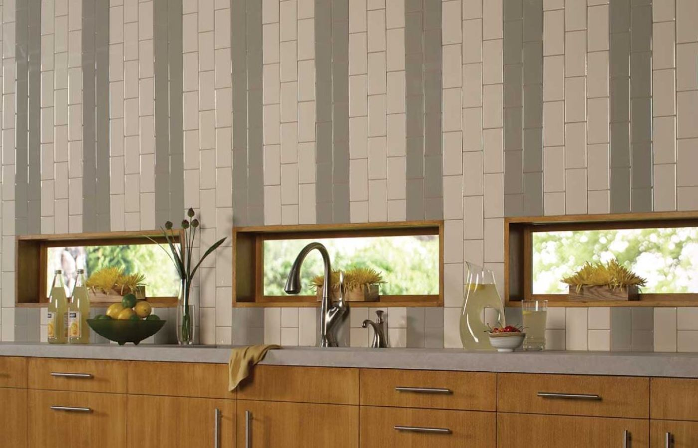 Daltile Rittenhouse Square Subway Tiles available at Custom Home Interiors!
