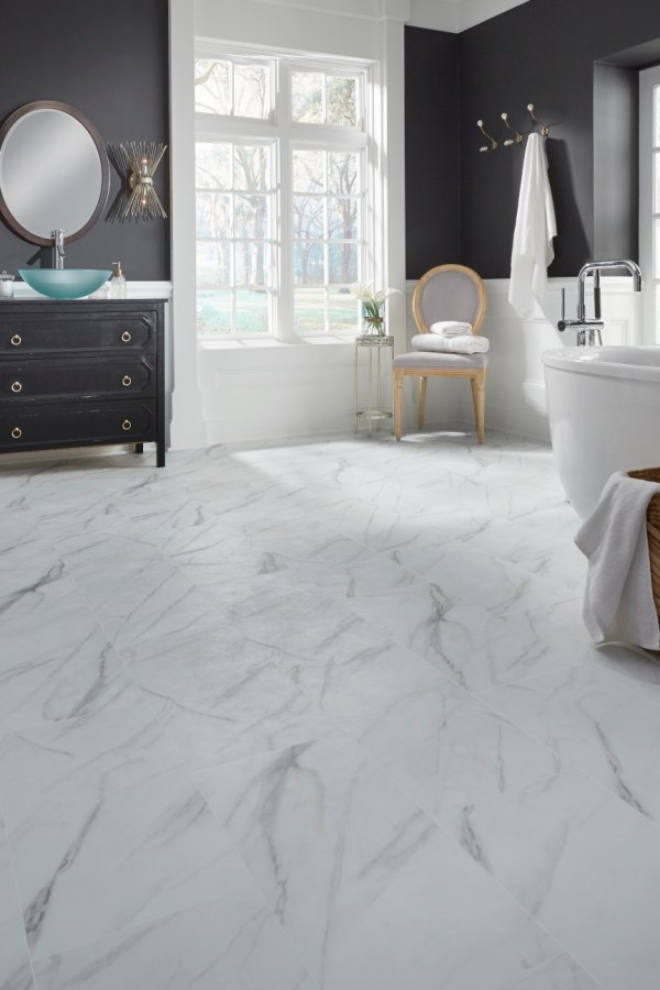Mannington Adura Max Legacy White with Gray MAXR120 AR410