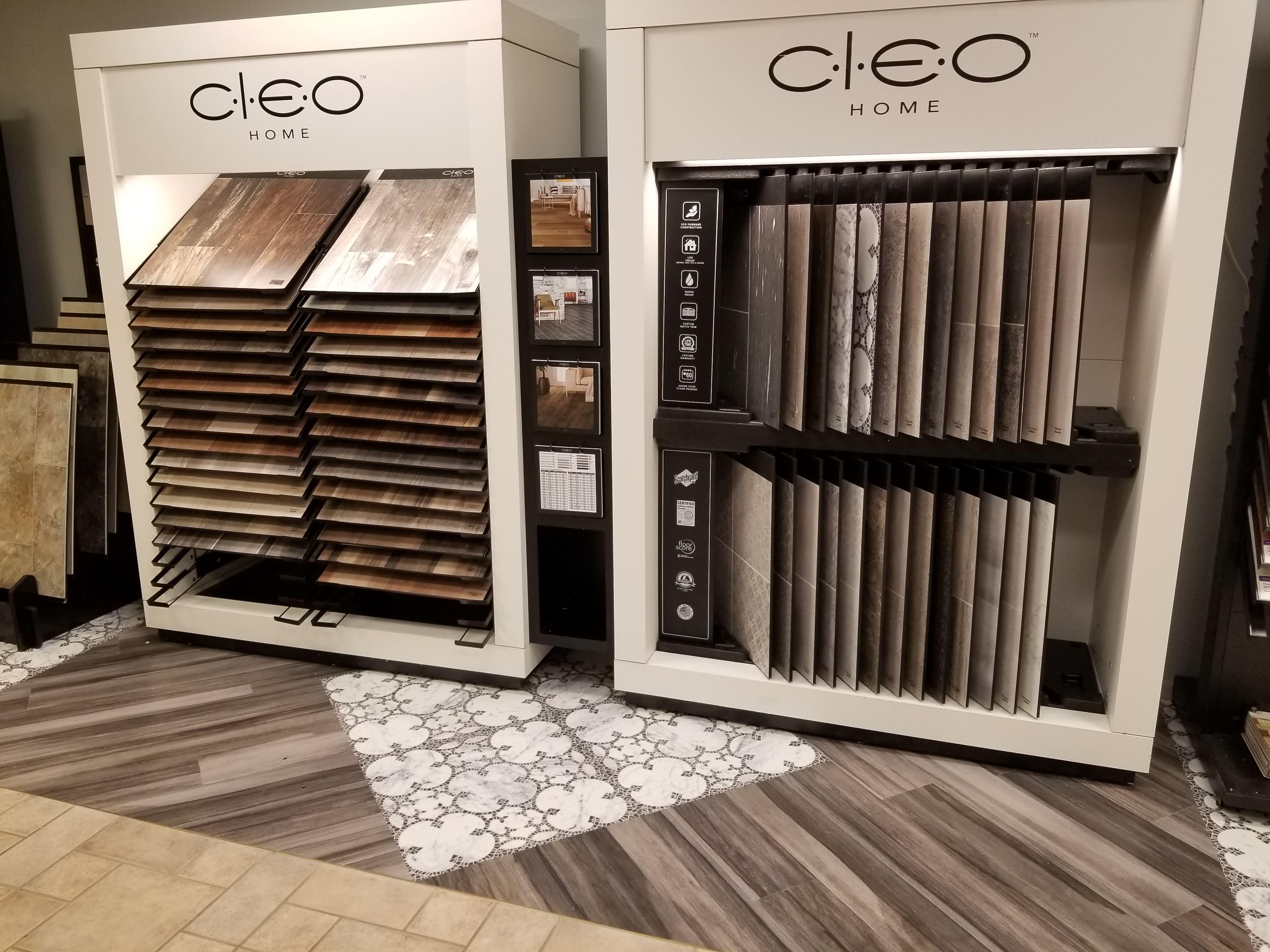 Congoleum Cleo Flooring Display