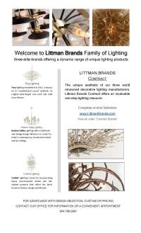 Littman Lighting | Custom Hospitality Solutions PLUS