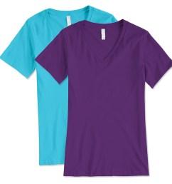 bella canvas women s v neck t shirt [ 959 x 959 Pixel ]