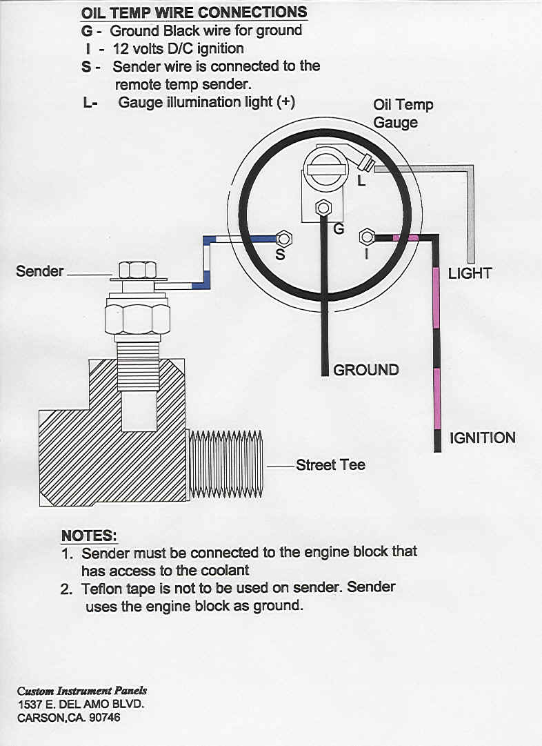 Vdo Gauge Wiring Diagram Speedometer