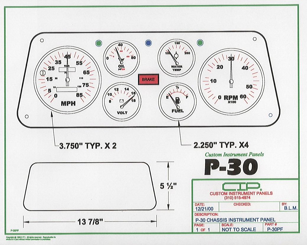 hight resolution of  cip p 30m layout