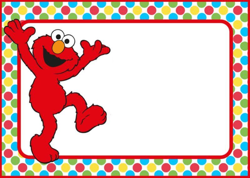12 Printable Elmo Invitations Children's Favorite