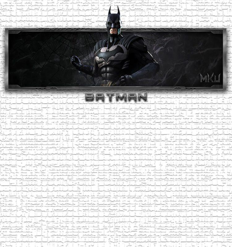 printable batman birthday invitation