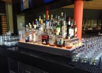 Wraparound LED Lighted Liquor Displays, Bar Shelves & More!