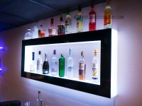 Lighted Back Bar Wall Display Shelves - LED Lighting ...