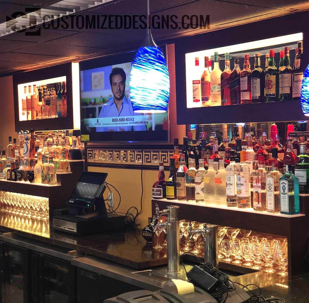 Restaurant Back Bar Display  Bar  Nightclub  Products  Ideas