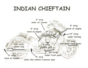 Indian Chieftain Fusion LED Lighting Kit  Customize That Ride