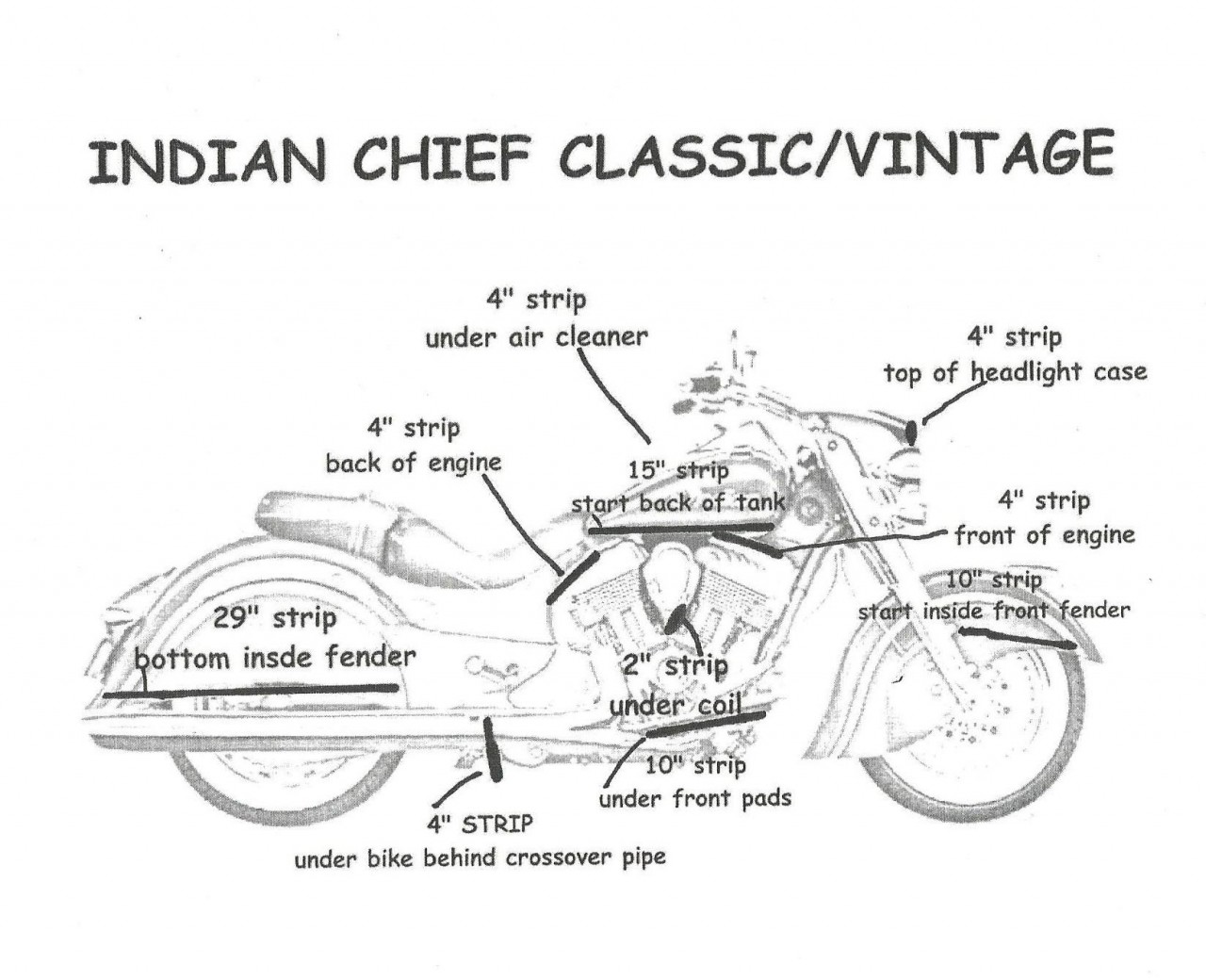 vintage diagram network and critical path indian classic fusion led lighting kit customize that ride