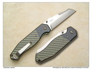 Jeff Hall Rare Chisel Ground Reverse Tanto Phalanx