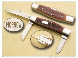 Don Morrow Prototype Three Blade Stockman