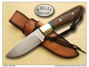 Michael Miller Walnut & Malacite Hunter