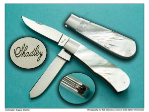 Eugene Shadley – Double Blade Trapper In Mother of Pearl