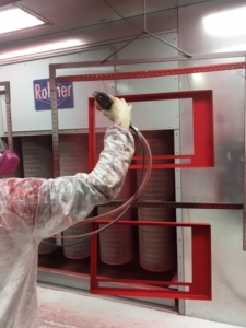 Powder Coating Application