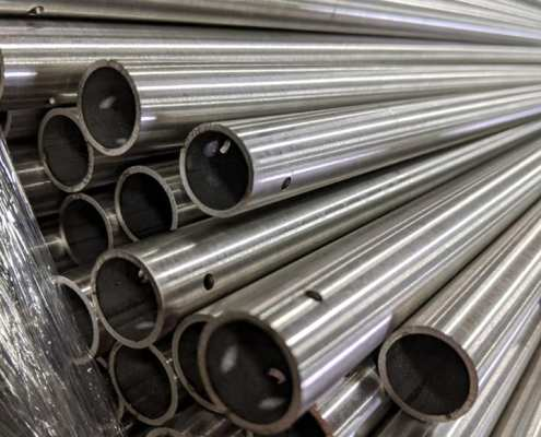 Medical-Grade Stainless Steel IV Stand Tubes