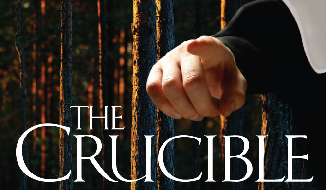 What were the purposes of the Salem theocracy in The Crucible?