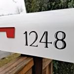 Memory Mailbox Numbers Newmerals