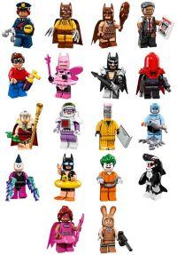 LEGO Batman Movie Minifigure Series Characters | Custom ...