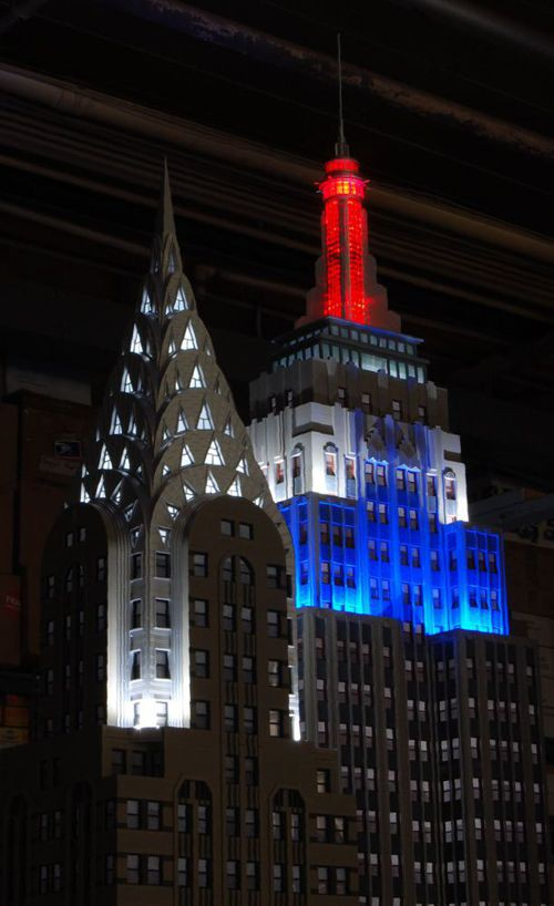 Custom Model Railroads Empire State Building Chrysler Building