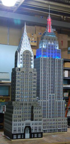Custom Model Railroads Empire State Building Chrysler