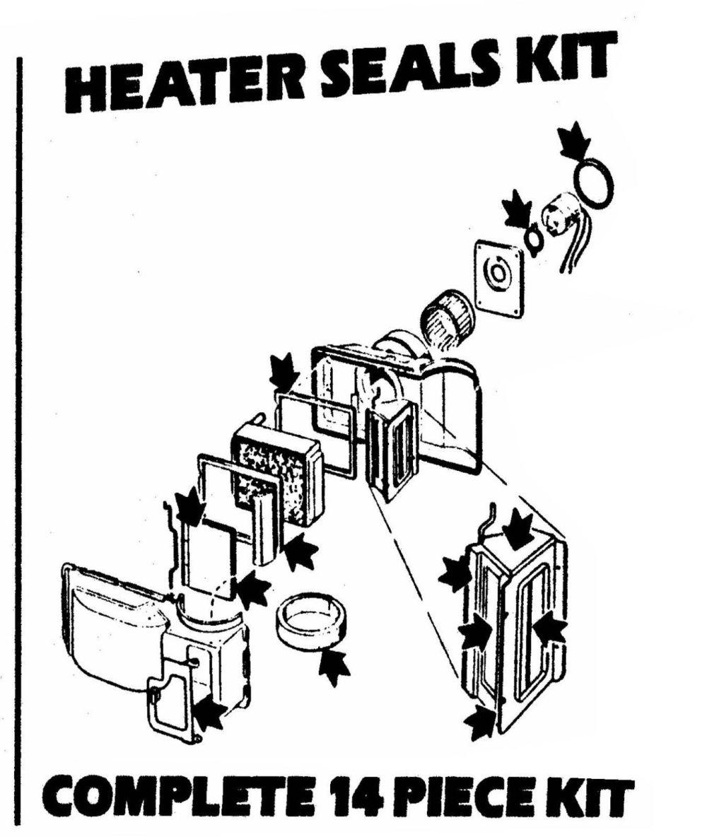 medium resolution of 1964 1966 mustang heater box