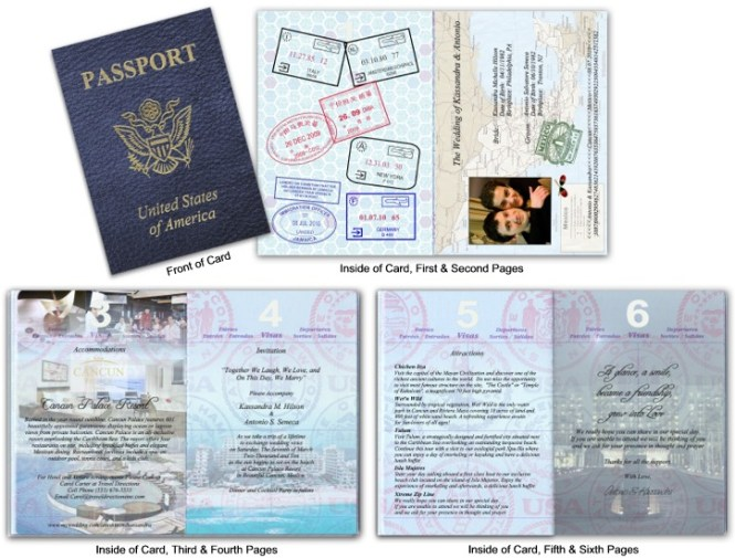 Passport 11 Destination Wedding Lavender