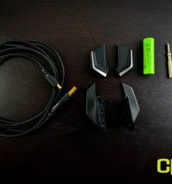 razer ouroboros wireless gaming mouse custom pc review  [ 2158 x 1440 Pixel ]