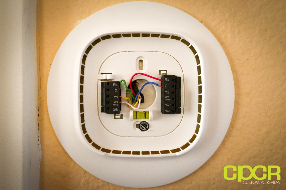 medium resolution of installation of the ecobee3 is a pretty painless affair those with modern hvac wiring that includes the c wire or common wire can go ahead and simply