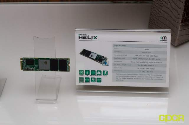 mushkin ces 2017 custom pc review 4 Mushkin Is Going To Launch New Family Of SSDs Helix Ranging From 250 GB To 2 TB