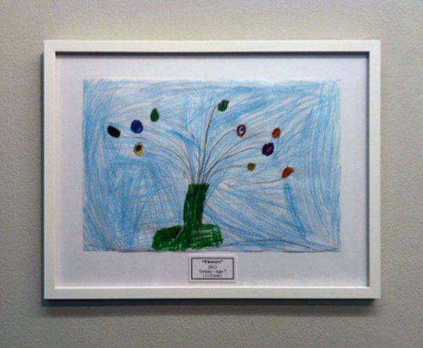 """""""Flowers"""" Kids Art"""