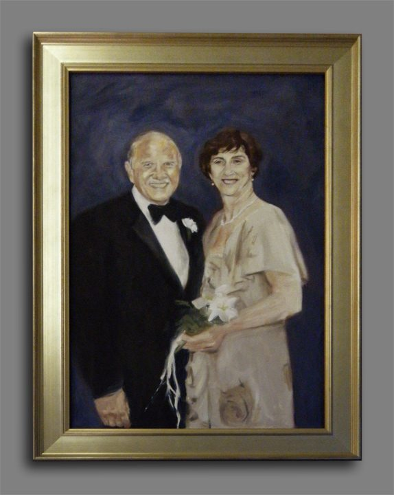 Portrait of Mr and Mrs Jerry Zaslow