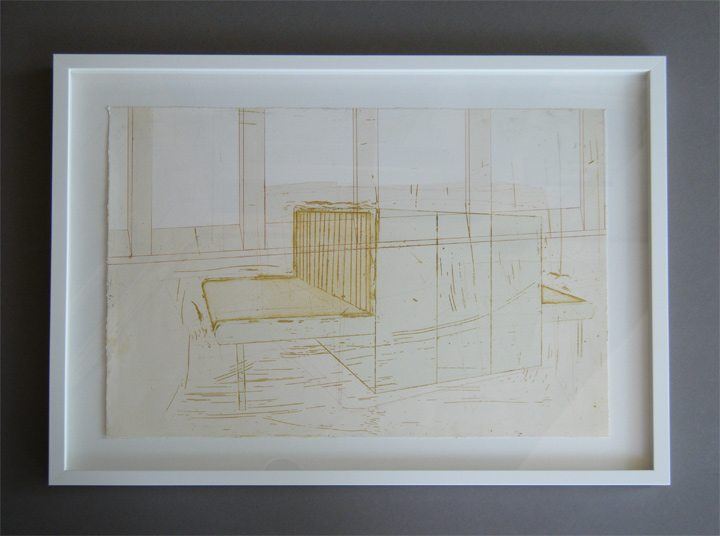 Contract framing for artists and galleries cpf glenside modern art in a white float frame workstations solutioingenieria Images