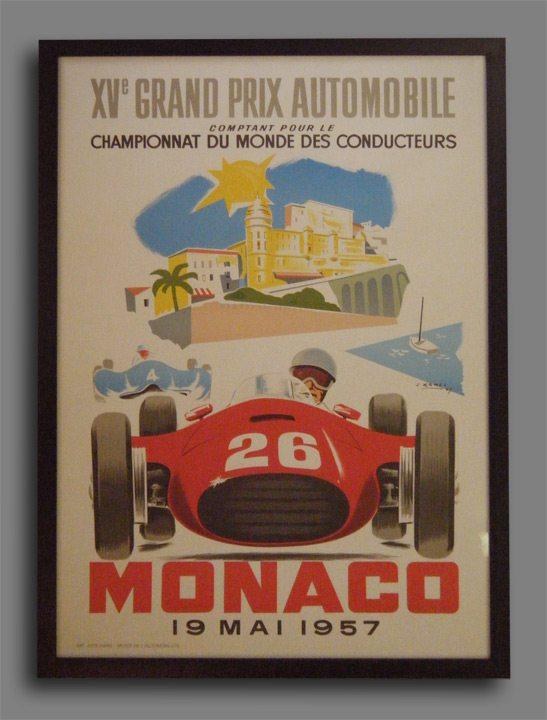 Monaco Poster by J Ramel