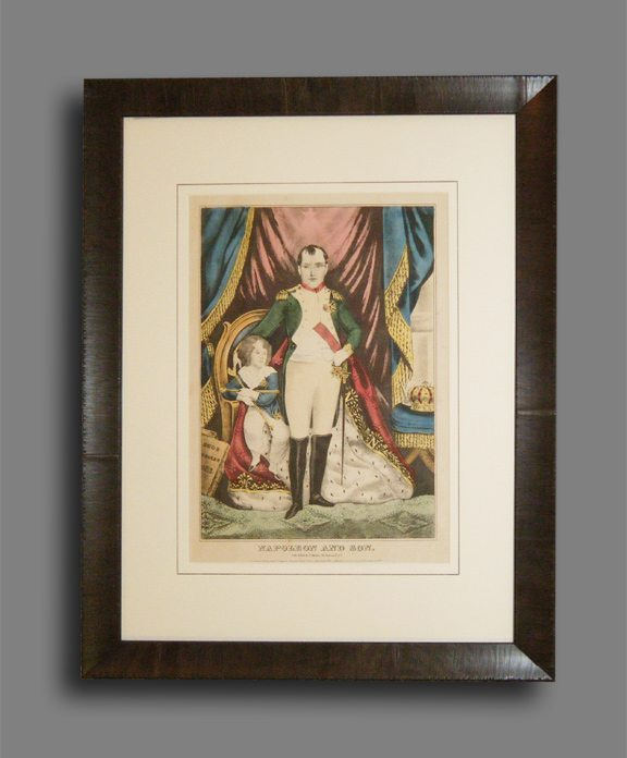 """1845 """"Napoleon"""" print by James S Barille"""